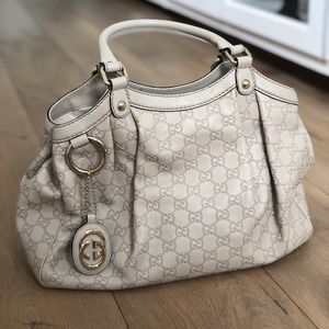 Gucci bag, off white, great condition